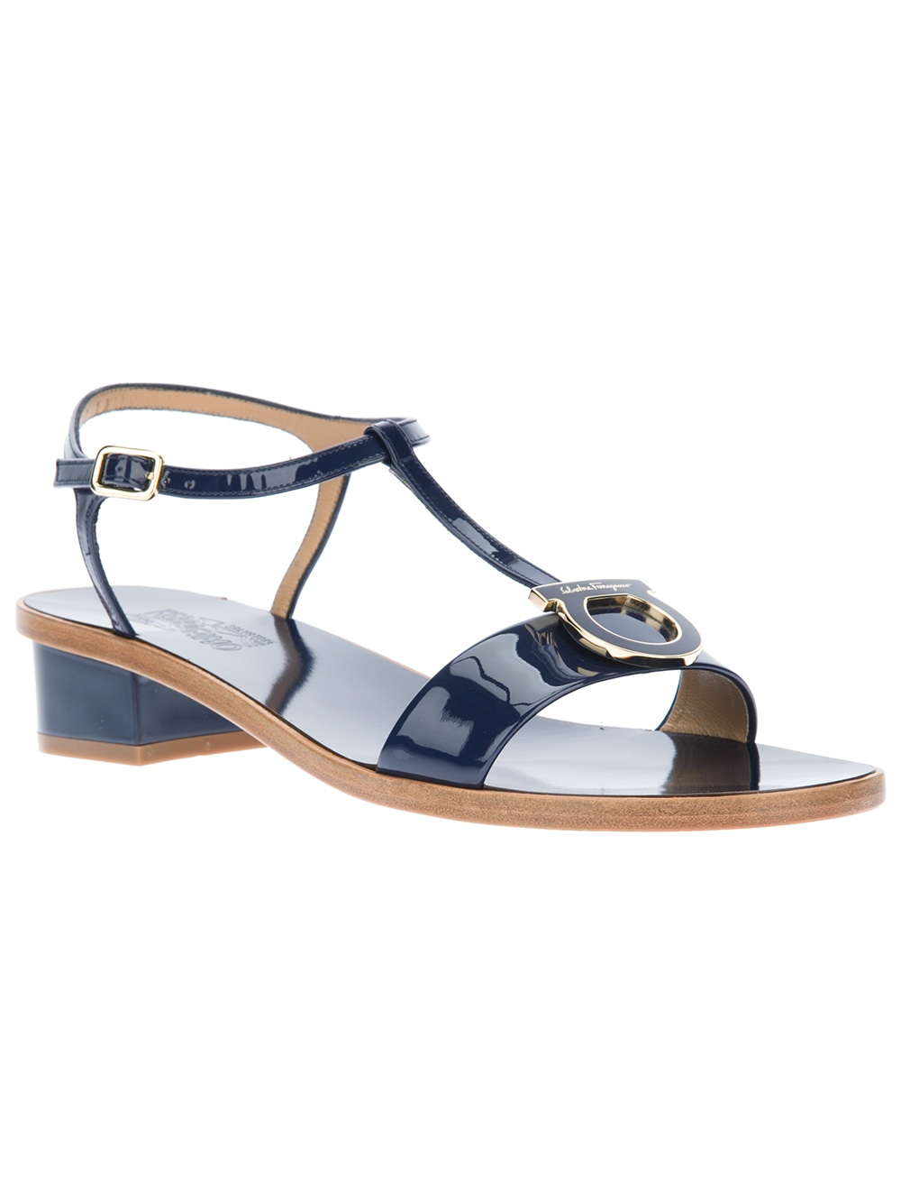 Unique Calvin Klein Women39s Nona Wedge Sandals In Blue Navy  Lyst